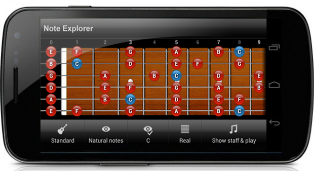 Guitar Note Trainer